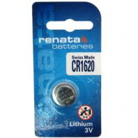 Renata Lithium Watch Batteries Coin Cells - CR1620